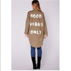 Fashion Nova oversized jacket